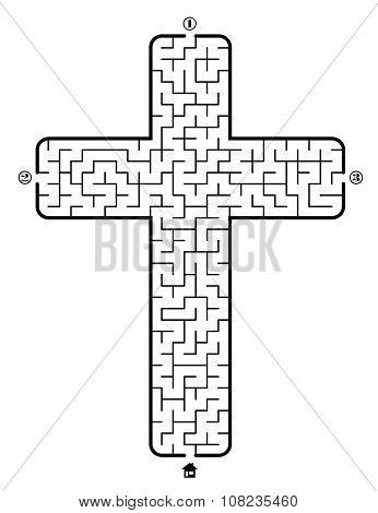 Labyrinth - Christian Cross