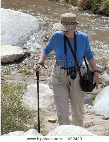 Mature Women Hiking