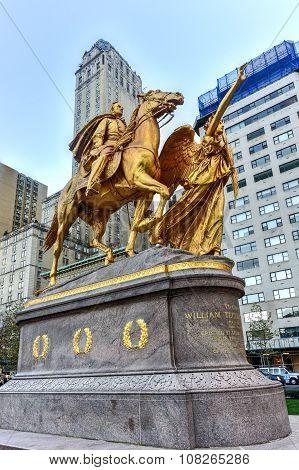 Sherman Memorial - Central Park, New York