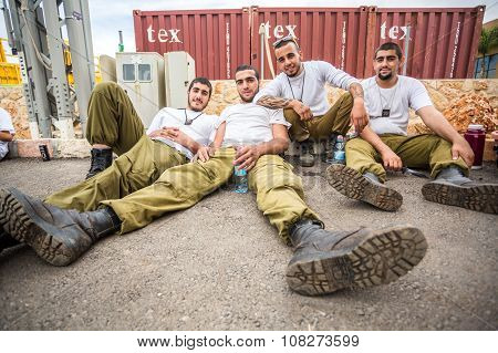 Four Israeli Soldiers.
