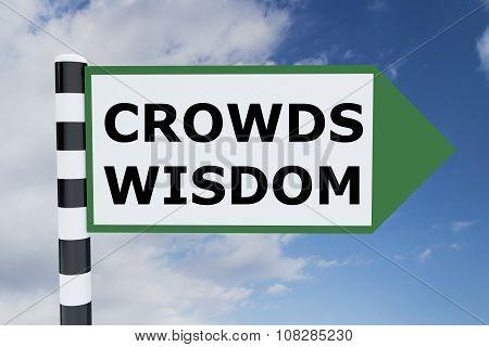 Crowds Wisdom Concept