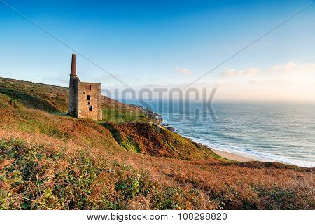 Wheal Prosper Cornish Engine House