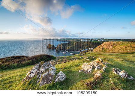Mullion Cove In Cornwall