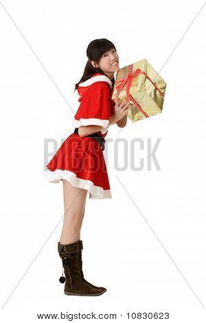 Attractive Christmas Girl