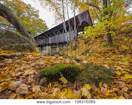 New England covered bridge