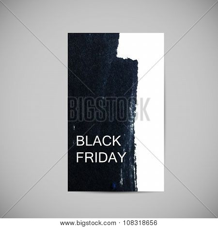Black Friday Sale label
