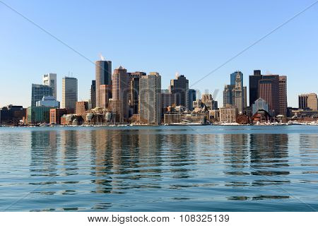 Boston Skyline, Massachusetts, USA