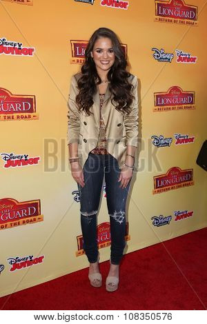 LOS ANGELES - NOV 14:  Madison Pettis at the
