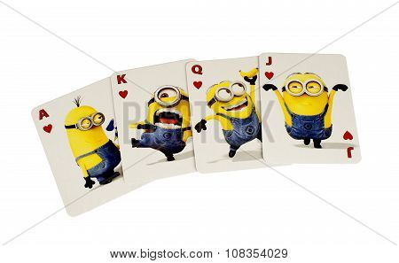 Descpicable Me Cards