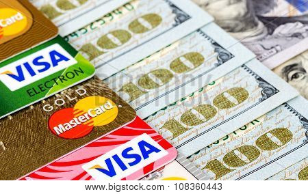 Mastercard Debit Card, Visa With Us Dollar Bills