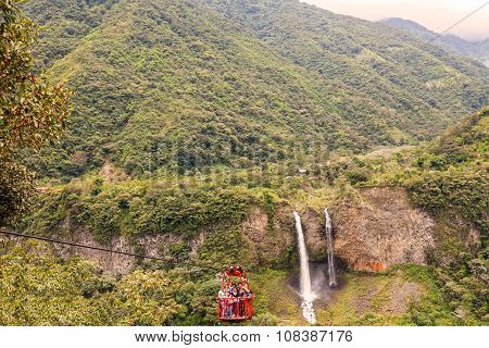 Manto De La Novia Waterfall