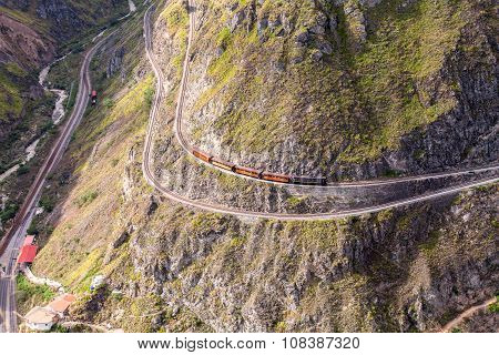 Train Ride Through The Andes Mountains
