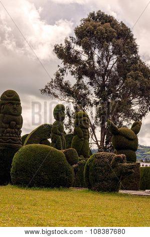 Topiary Garden Cemetery, South America