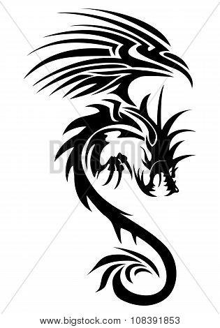 Flying Dragon Tattoo