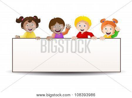 Four Kids Banner