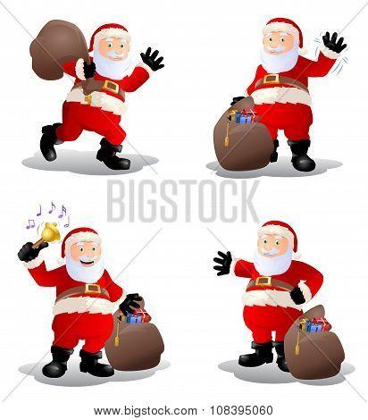 Stock Of Old Santa Claus
