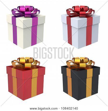 Gift Box 3D