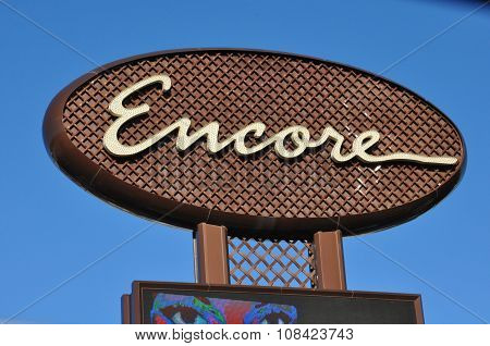Encore in Las Vegas, Nevada