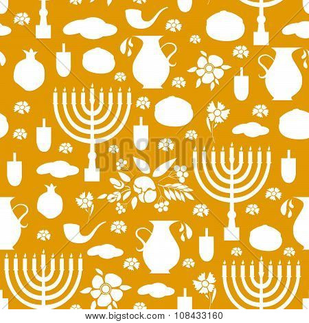Happy Hanukkah Background.
