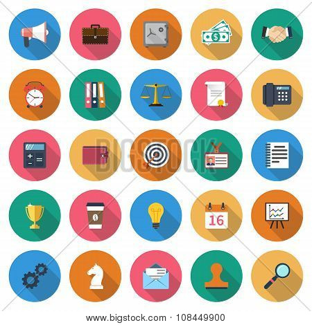 Set Business Icons
