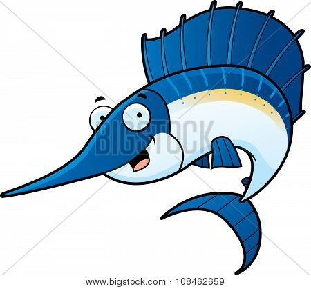 Cartoon Sailfish