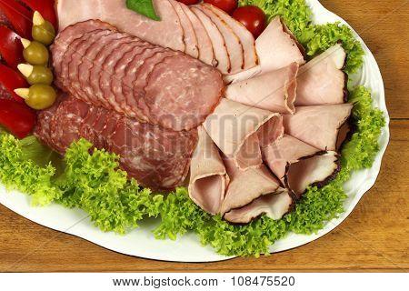 Ham And Sausage