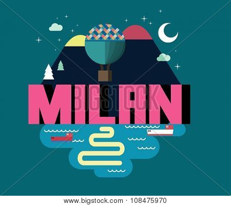 Milan city in italy is a beautiful destination to visit for tourism.