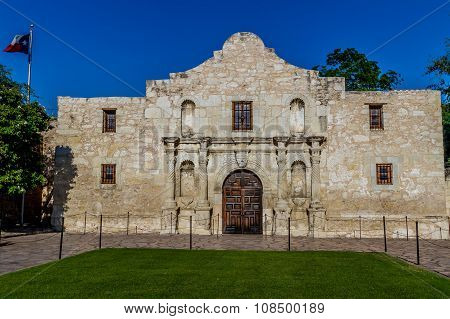 The Historic and Famous ALAMO, in Texas