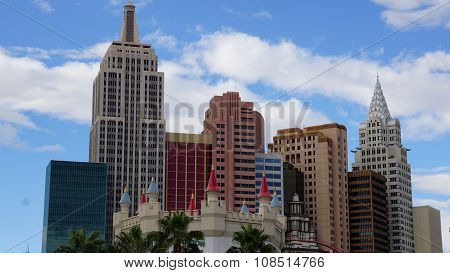 New York New York Hotel and Casino in Las Vegas