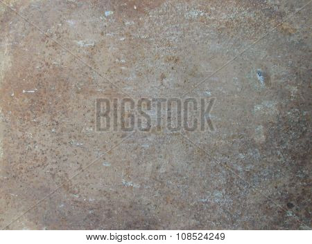 wheathered rust and scratched steel texture useful for background poster