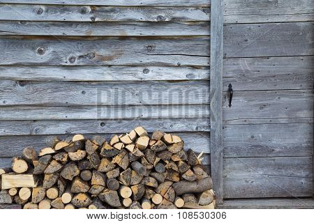 Rustic Wood Shed