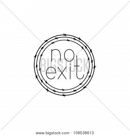 No Exit Depression Concept