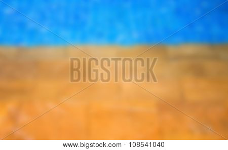 Abstract Blur Swimming Pool Background