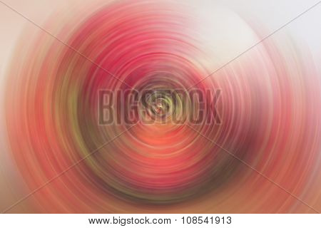 Spin Blur Circle Red Abstract Background