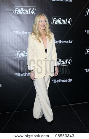 LOS ANGELES - NOV 05:  Isabel Adrian at the Fallout 4 video game launch  at the downtown on November 05, 2015 in Los Angeles, CA