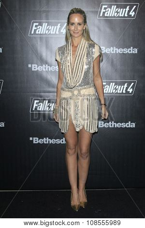 LOS ANGELES - NOV 05:  Lady Victoria Hervey at the Fallout 4 video game launch  at the downtown on November 05, 2015 in Los Angeles, CA