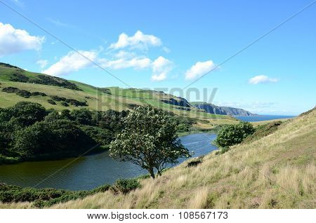 Mire Loch at St Abbs Head