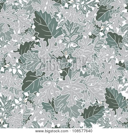 Abstract Texture With Cineraria. Seamless Pattern With Festive Flower Bouquet Ornament.