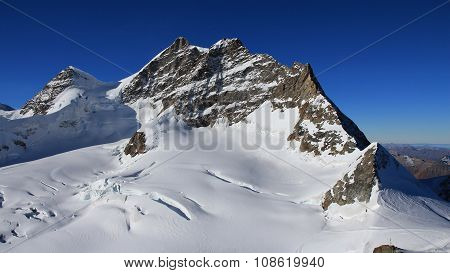 Mt Jungfrau, View From The Jungfraujoch