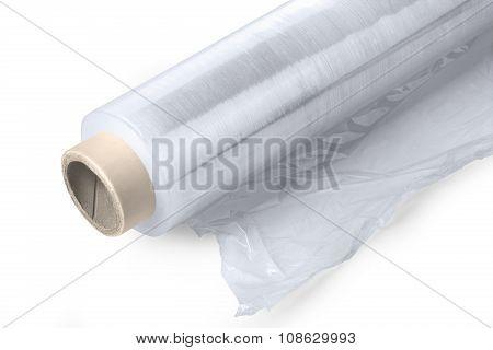 Roll Of Plastic Stretch Film