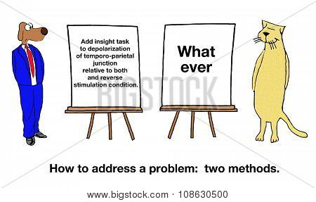 Two Methods to Solve Problem