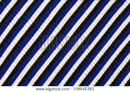 Navy Blue Striped Background.