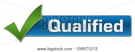 Qualified With Green Tickmark
