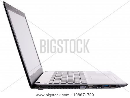 Laptop Side Isometric View