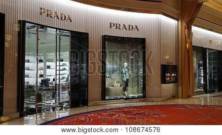 Prada store at Wynn Las Vegas and Encore in Las Vegas