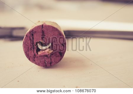 Cork From Red Wine