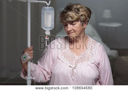 Portrait Of Senior Patient