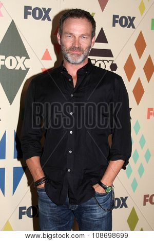 LOS ANGELES - AUG 6:  Stephen Moyer at the FOX TCA Summer 2015 All-Star Party at the Soho House on August 6, 2015 in West Hollywood, CA