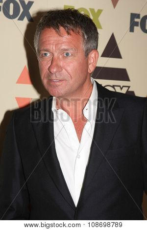 LOS ANGELES - AUG 6:  Sean Pertwee at the FOX TCA Summer 2015 All-Star Party at the Soho House on August 6, 2015 in West Hollywood, CA