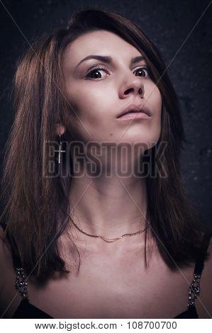 Crazy Woman Face